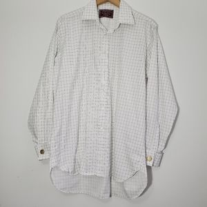 Charles Tyrwhitt Dress shirt French Cuff Neck 16